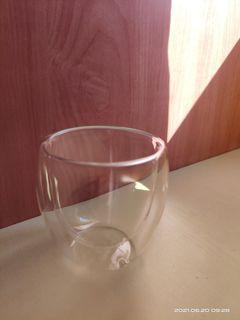 Hario 02 Dripper (plastic) & Double Wall Glass
