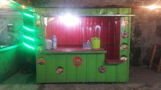 Jual Butuh Murah Booth Galvanil Container ukuran 2,5m x 1,5m