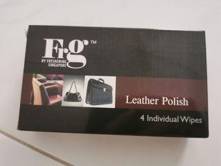 Leather polish wipe (2 boxes for $15)