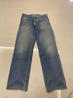 Levi's straight cut rugged hws jeans