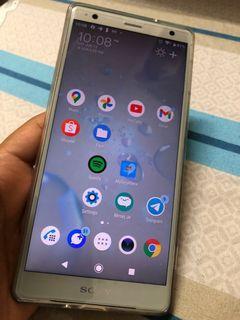 Like new Sony Xperia XZ2 Au Snapdragon 845 Gaming Phone