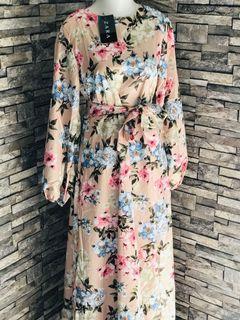 Long Dress Zara Bunga
