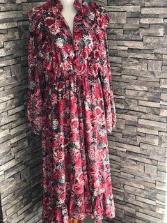 New long dress flower