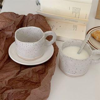 Nordic Aesthetic Korean Splash Ink Mugs Cups