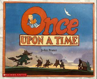 《Once Upon a Time》ISBN:0590629433│Walker Books│Vivian French│七成新