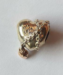 Pandora chained heart charm