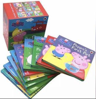 Peppa Pig Board Books Collection (9 Books)