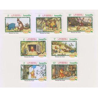 Perangko mint 1982 Winnie the pooh