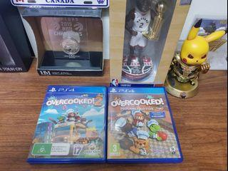 PS4派對遊戲---煮過頭系列(1代+2代)