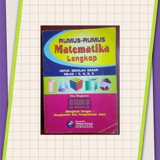 Rumus Matematika Lengkap SD Kelas 3, 4, 5, 6 Dilengkapi Rangkuman IPA