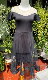 sabrina dress hitam