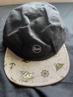 SQUAD 二手 帽 航海造型圖騰 男女皆可