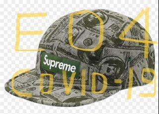 Supreme dollar money cap