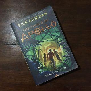 The Trials of Apollo ; The Burning Maze by Rick Riordan