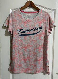 Timberland女款字母印花短袖T恤