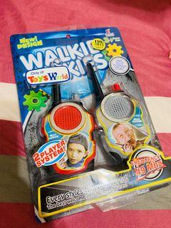 ToysWorld無線電對講機玩具