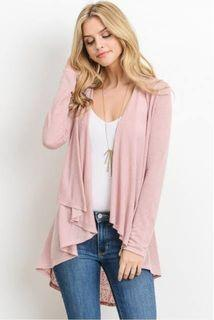 Zara Pink Knit Cardigan