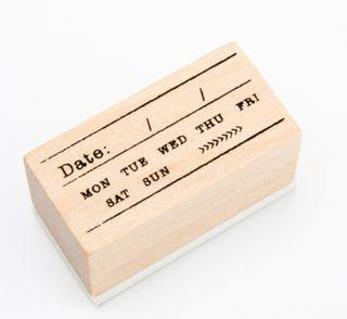 20mm x 40mm Date-Rubber stamp