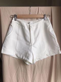 氣質西裝前開叉短褲