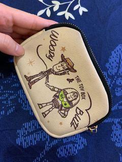 八成新🌶玩具總動員雙層內袋零錢包鑰匙包