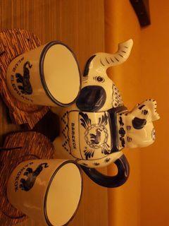 割愛藍象茶杯組