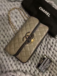 Chanel 23公分 雙層包