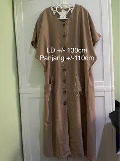 DRESS BIG SIZE LD 130cm