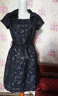 Dress Mini Motif Bunga Preloved
