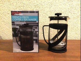 Home Basics... French Press Coffee/Tea Maker