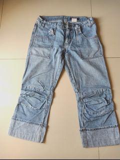 Jeans denim 7/8 Stylish