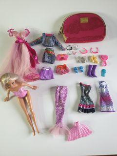 Mermaid Barbie doll bundle