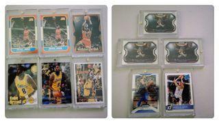 NBA cards - Jordan, Kobe, Lebron, Doncic, Jokic