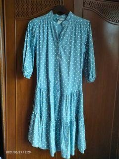 Polka Midi Dress