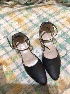 Sarmer black heels / hitam