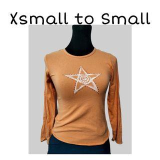 SHOP FOR A CAUSE | Orange Longsleeves Top