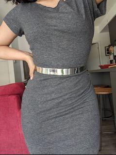 Silver Hoop Belt