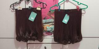 Take All 150.000 Hairclip blow wave 40cm light brown
