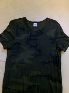 Tna camo tshirt dress