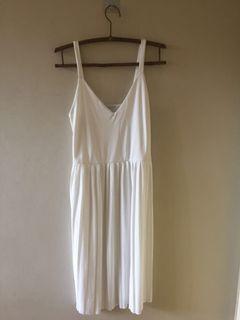 Zara white elegant dress