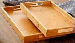 木製端盤10個自用或開店均合適