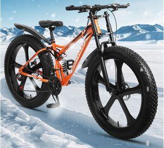 26*4.0胖車寬胎車登山越野車腳踏車