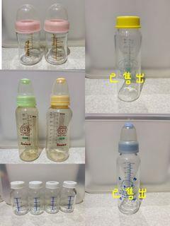 優生 小獅王辛巴 亞米兔 酷咕鴨 標準 寬口 玻璃 ppsu奶瓶120ml240ml320ml