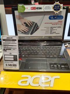 Acer A314 22 R6MN kredit mudah tanpa kartu kredit syarat 2 dokumen saja proses cepat