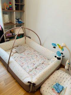 Baby bumper bed creamhaus