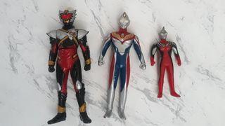 Bandai Ultraman 3pcs - mainan anak jepang