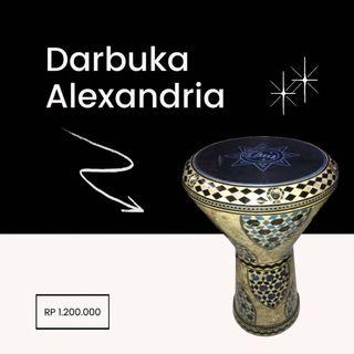 Darbuka Alexander Mesir ORI (SECOND LIKE NEW) Banting Harga