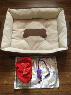 Dog / Puppy Dog Bed w/ Freebies ❤️