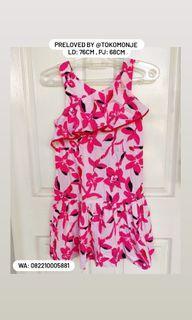DRESS ZARA GIRL / DRESS ANAK USIA 8-10 THN