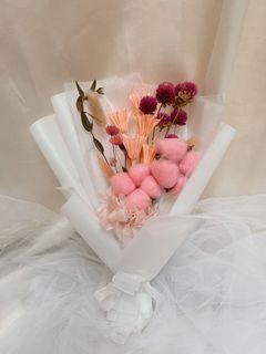 Dried flower bucket