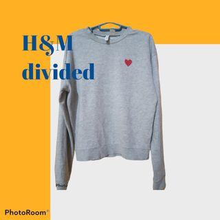 H&M sweater divided love